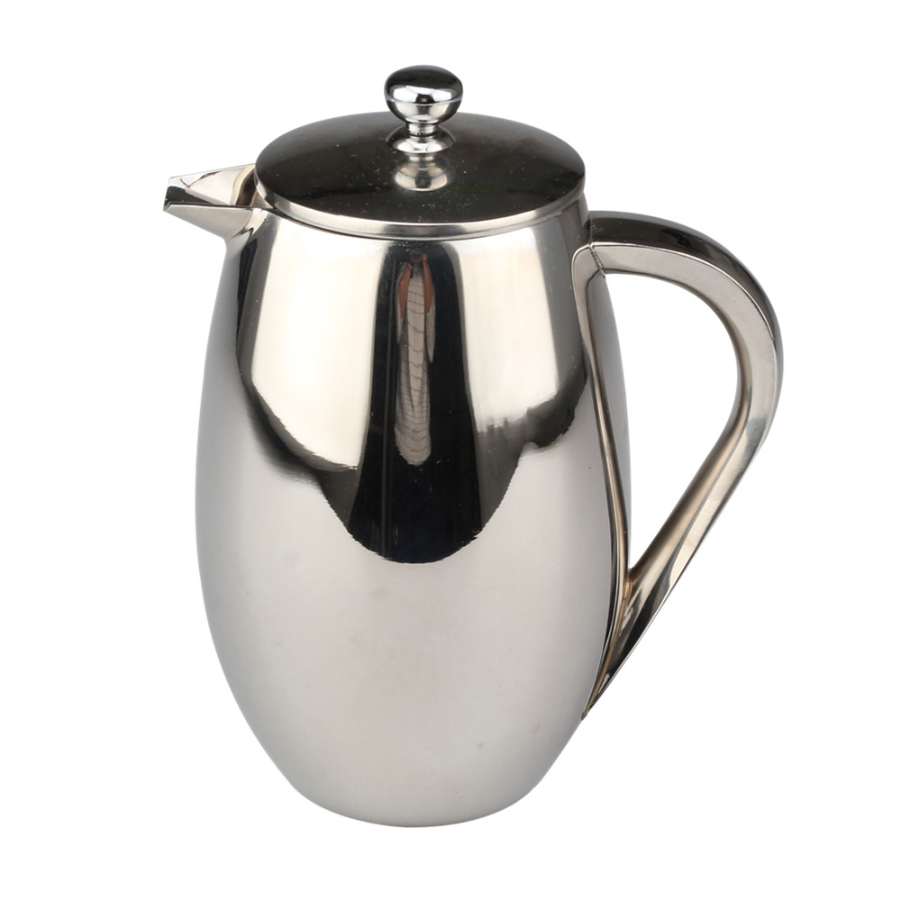 Double Wall Coffee Maker With Comfortable Handle