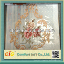 High Quality Embroidery Curtain Voile