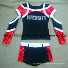 2017 New Cheerleading Uniforms: Long Sleeve Style