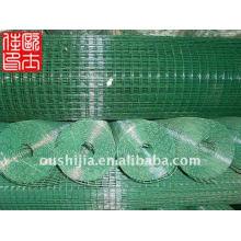 Treillis métallique soudé revêtu de vinyle et treillis métallique soudé en plastique de 1/2 pouce