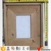 Деревенская деревенская примитивная деревянная фоторамка