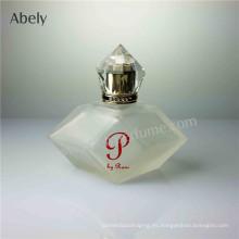 Nueva botella de perfume de diseño con glaseado