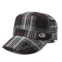 Wholesale Check Winter Warm Military Army Cap/Hat