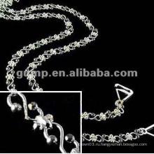Металлические браслеты из бриллиантового бюстгальтера (GBRD0169)