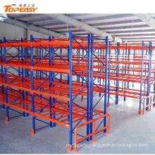 Powder coated heavy duty steel pallet storage racks