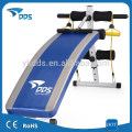 height adjustable foldable exercise curved sit up bench