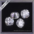 Atacado Forever One Almofada Forma de Diamante Corte Puro Branco Moissanite Pedras para Anel