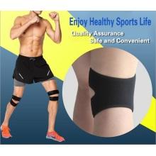 Breathable sports use patella cushion knee brace support