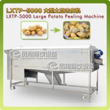 Super-Huge Type Spiral Vegetable Washer&Peeler, Potatoes Washing, Peeling Machine Lxtp-5000