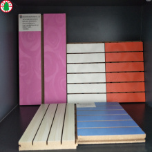 Melamine+faced+slotted+mdf+board+for+supermarket