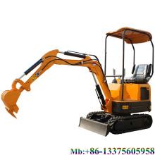 Export 1.2 ton household hydraulic crawler mini excavator with swing boom