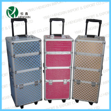 Trolley Aluminum Make up Case