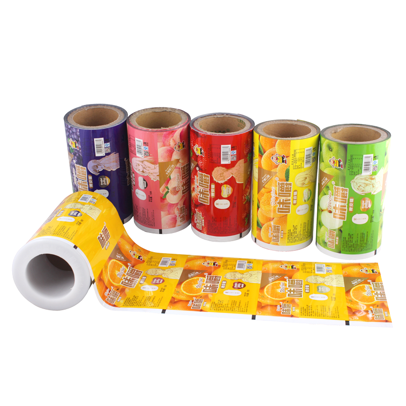 Automatic Roll Film Of Preserved Fruit Food
