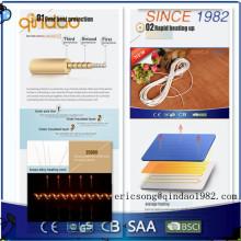 Fio elétrico dobro da eletricidade da hélice usado para o produto elétrico do aquecimento