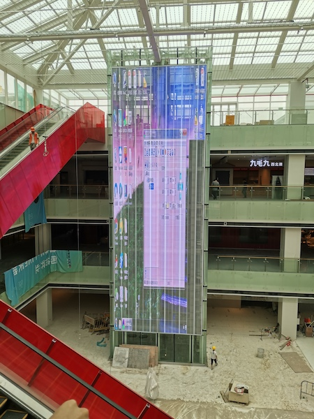 Innovative led video wall indoor and outdoor solution