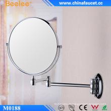 Espejo de aumento flexible de pared de baño de artículos sanitarios