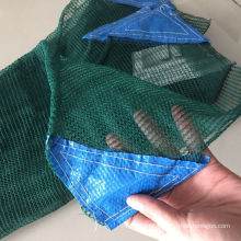 virgin hdpe material 6x12m 92g gsm weight green olive rachel collect net