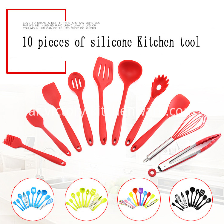 silicone tool set
