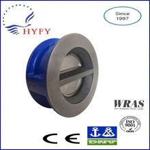 Discount portable wafer type double disk check valve