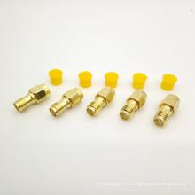 Высокий коэффициент усиления SMA женский к SMA мужской адаптер РФ разъем для коаксиального кабеля