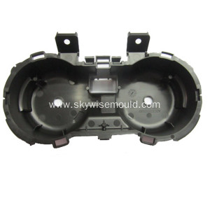 Plastic injection mold for automotive cup holder
