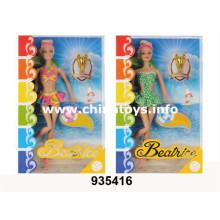 """Juguetes de plástico de promoción 11 """"Solid Doll (2ASS) (935416)"""
