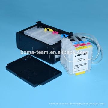 Bulk Tintensystem mit Tintenpatrone und Auto-Reset-Chip für HP 10 82 ciss System für HP Designjet 500 500 800 800 800