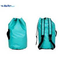 420d Junger Sport Fluoreszierender blauer wasserdichter Rucksack