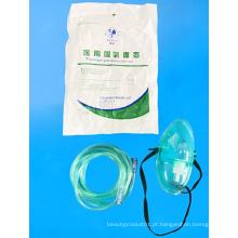 Máscara médica de oxigênio descartável