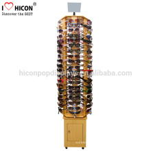 Care About Values Of Displays For Our Customers Floor Standing Eyewear Optical Shop Wooden Sunglasses Display Stand
