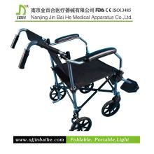 Faltender Aluminium-Manual Rollstuhl für Patient