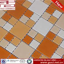 heißer Verkauf gemischt Kristallglas Pulver Mosaikfliesen für Schwimmbad Wand