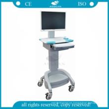 AG-WT002A móvil de hospital de estación de trabajo móvil de hospital
