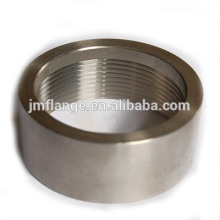 304/316L stainless steel half coupling o.d. machined(1/2 SPE)