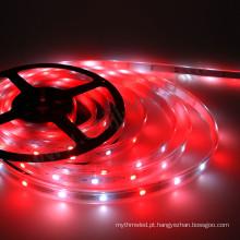 A cor da decoração SMD5050 RGBW DC5V de 100m em mudança conduziu luzes das tiras