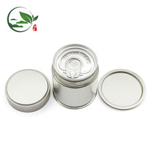 Acepte el logotipo personalizado Matcha Pop-top Can, Matcha Round Tin Can With Screw Lid