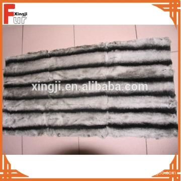 Genuine Animal Fur Chinchilla Rex Rabbit Fur