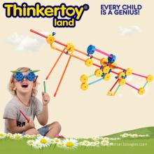Jouet en plastique de bricolage Bâtiment Building Building Toy pour enfants