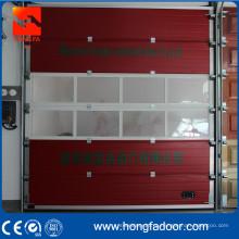 Пожарная станция надземная секционная дверь