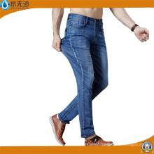 Factory Mens Jeans Blue Stretch Denim Pants Fashion Cotton Pants