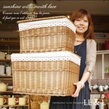 (BC-WB1023) Cesta de lavadero natural hecha a mano de la alta calidad / cesta del regalo