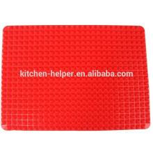 Eco-friendly más nuevo diseño impermeable alimenticio grado silicona mascotas comida mat
