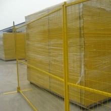 PVC Coated Framed Welded Railway Fence