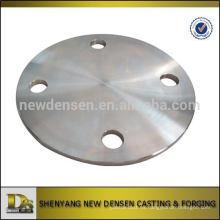 Mecanizado de placas de acero inoxidable OEM