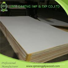 Madeira compensada do PVC da cor branca de alta qualidade 1.6-3.6mm de Linyi