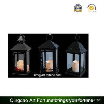 Uso al aire libre Vela de Pilar LED sin llama