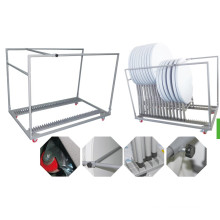 Standing Round Table Trolley
