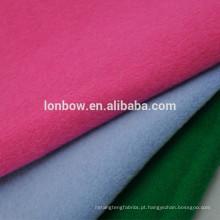 Lã de lã de 90% 10% tecido de nylon para casacos, 15 cores disponíveis