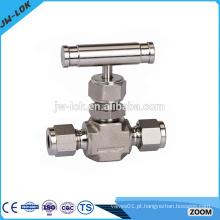 Válvula de agulha de isolamento de instrumentos de alto desempenho