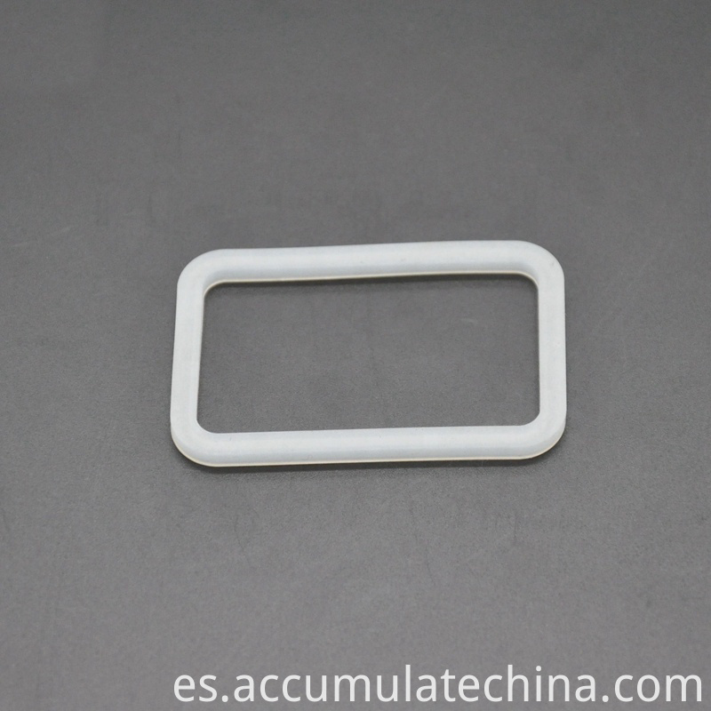 Rectangular Slide Silicone Rubber Seal Ring